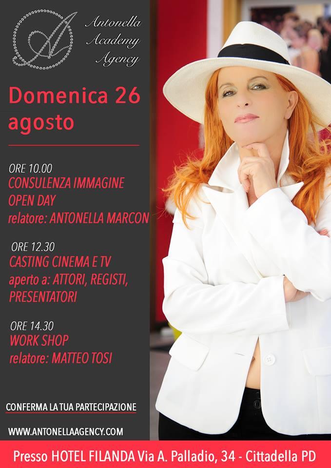 Antonella academy Agency 26 agosto